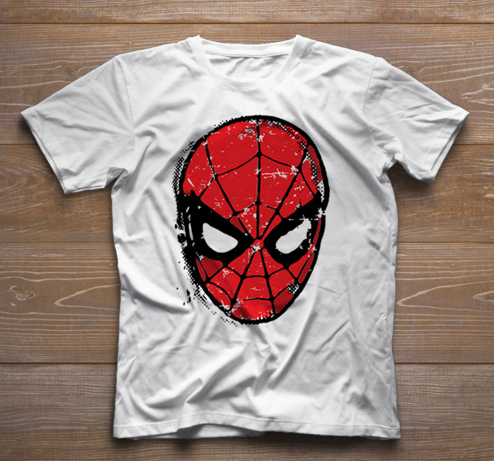 Camiseta Divertida - Spider Man - White  - Baby Monster S/A