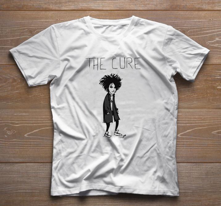 Camiseta de Rock Infantil - The Cure - White  - Baby Monster S/A
