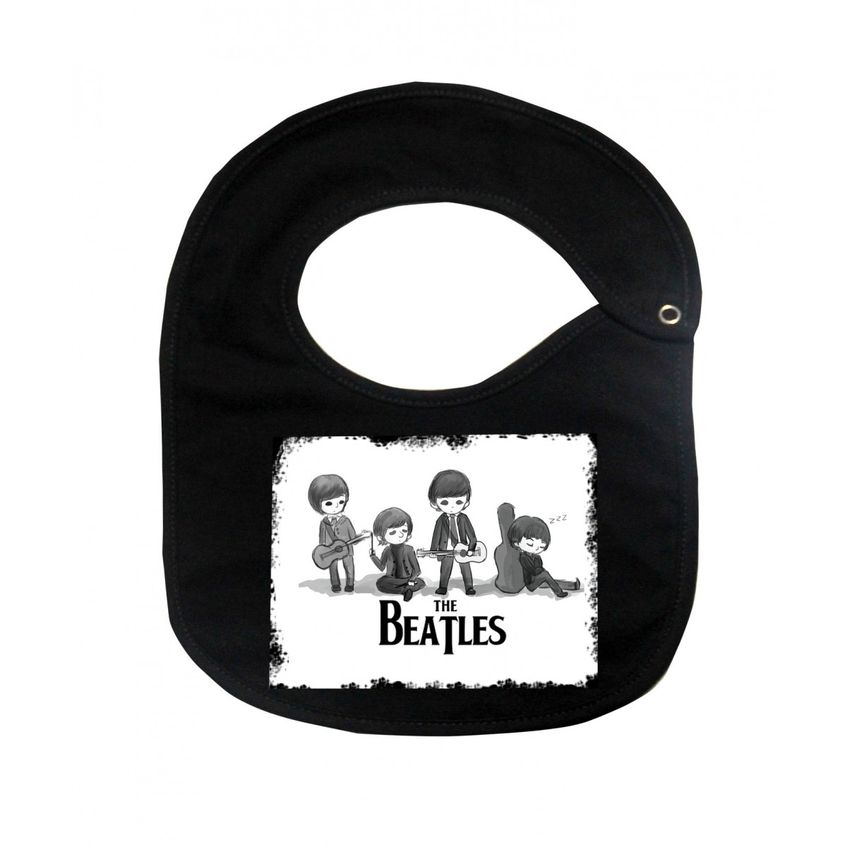Babador  Rock Baby  - Beatles - Black  - Baby Monster S/A
