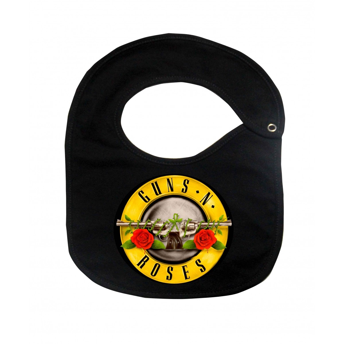 Babador  Rock Baby  - Guns n Roses - Black  - Baby Monster S/A