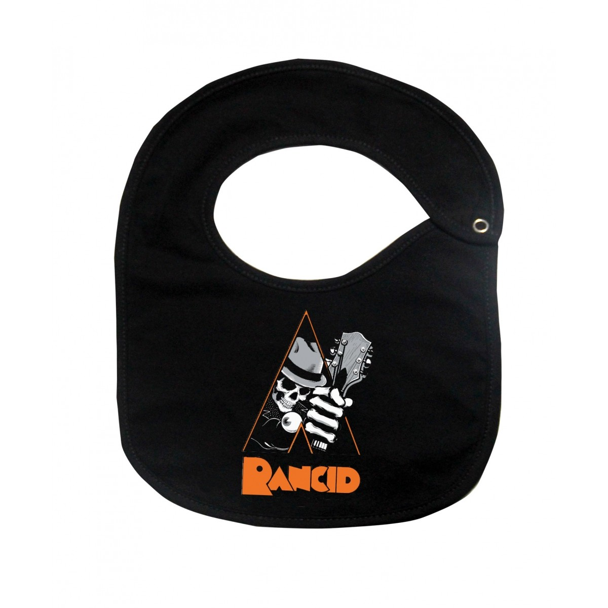 Babador  Rock Baby  - Rancid - Black  - Baby Monster S/A