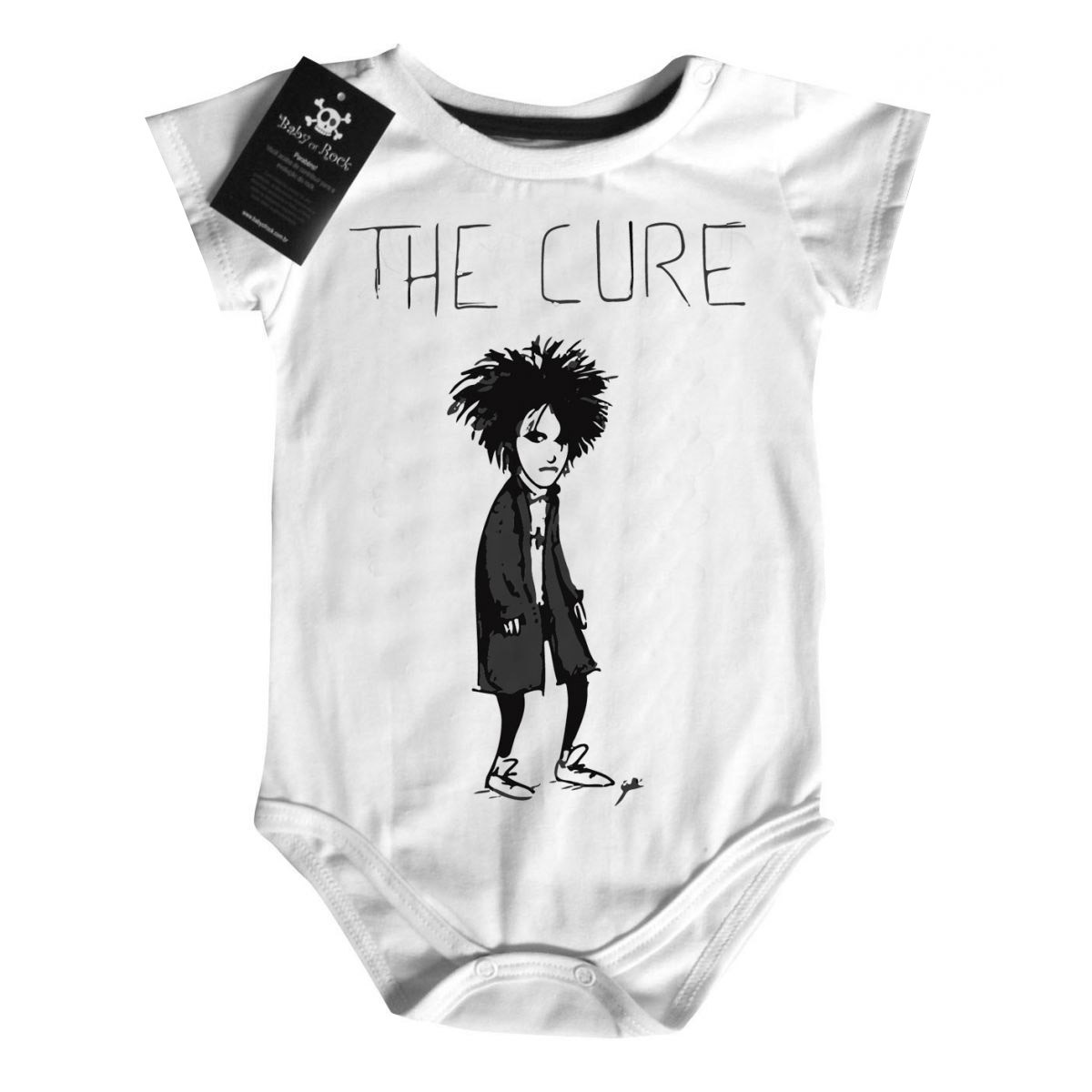 Body Rock The Cure - White  - Baby Monster - Body Bebe