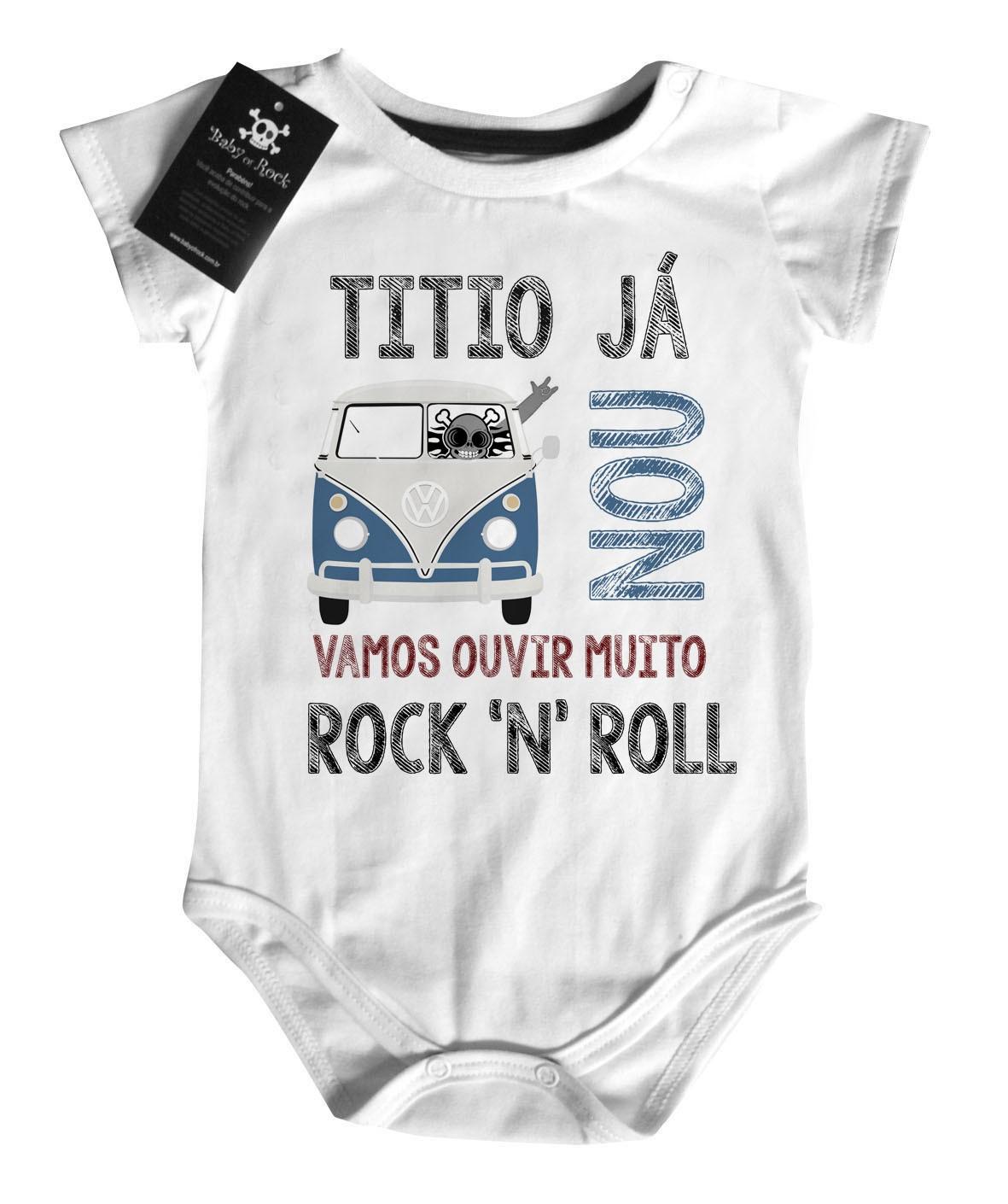 Body Rock -  Titio já Kombinou - White  - Baby Monster S/A