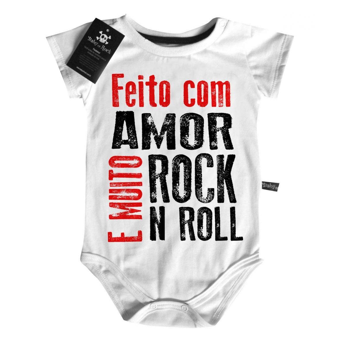 Body Baby Rock -  Feito com amor e Rock n