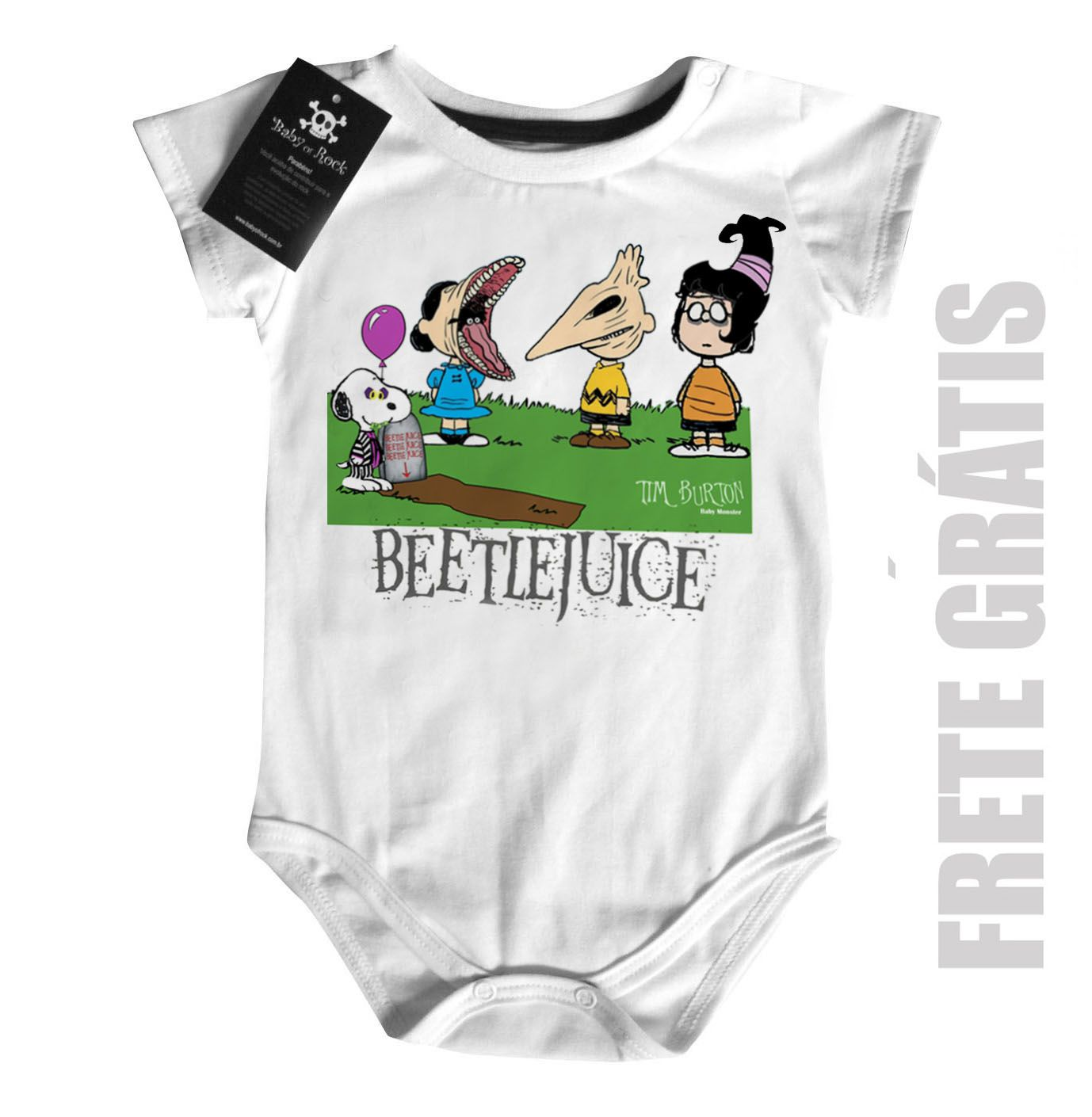Body Bebê  Beetlejuice, Os Fantasmas se divertem  - Baby Monster S/A
