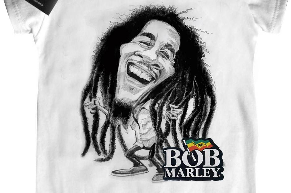 Body Bebê Bob Marley - White  - Baby Monster - Body Bebe