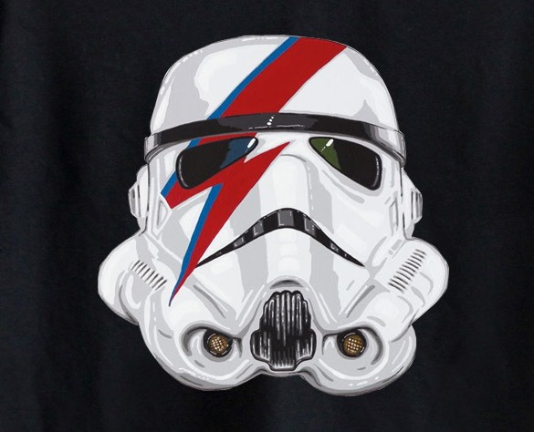Body Bebê David Bowie- Star Wars - Black  - Baby Monster S/A