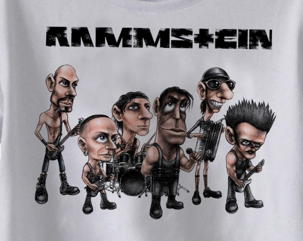 Body Bebe de Rock Rammstein- White   - Baby Monster S/A