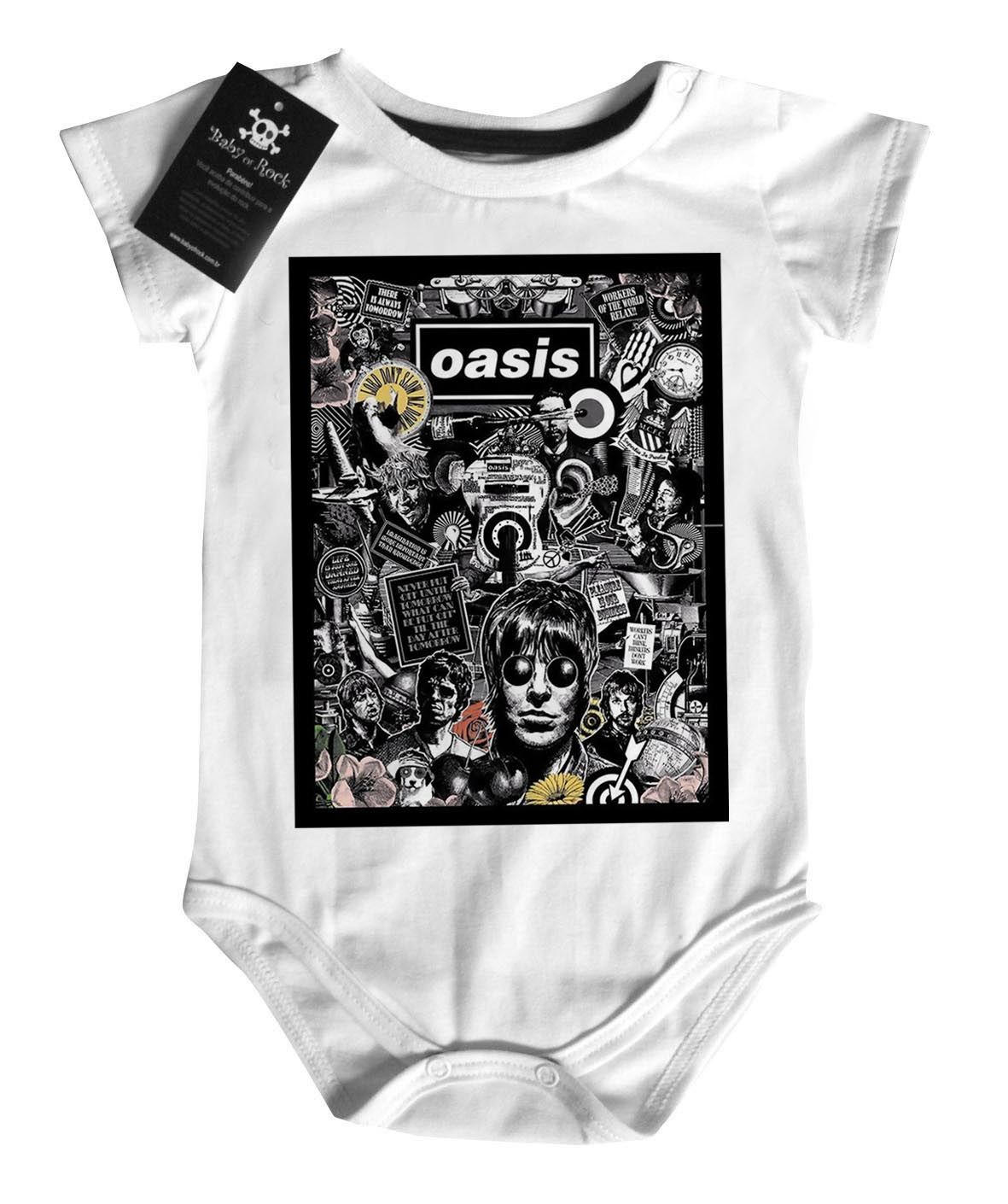 Body Bebe do Rock Oasis White   - Baby Monster - Body Bebe