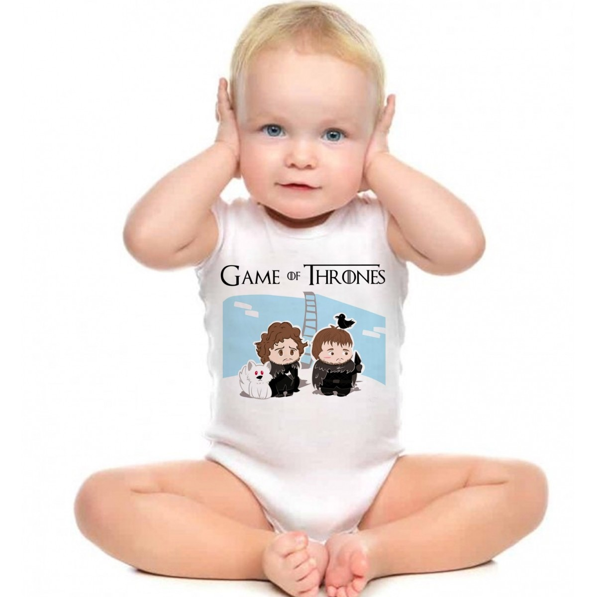Body Bebê - Filmes - Game of Thrones - White  - Baby Monster S/A