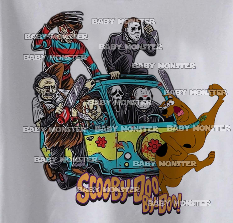 Body Bebê Geek - Scooby-doo Terror Cute   - White   - Baby Monster S/A