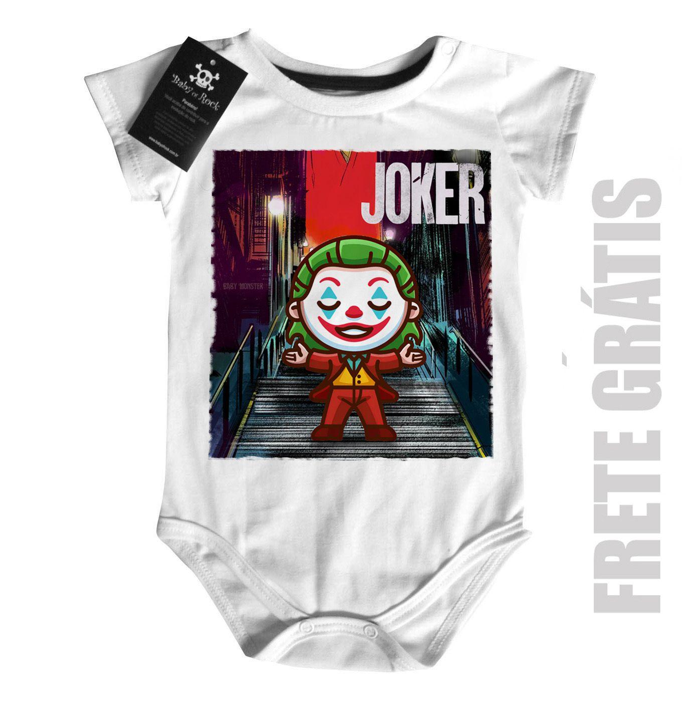 Body Bebe Joker Coringa Baby Monster  - Baby Monster S/A