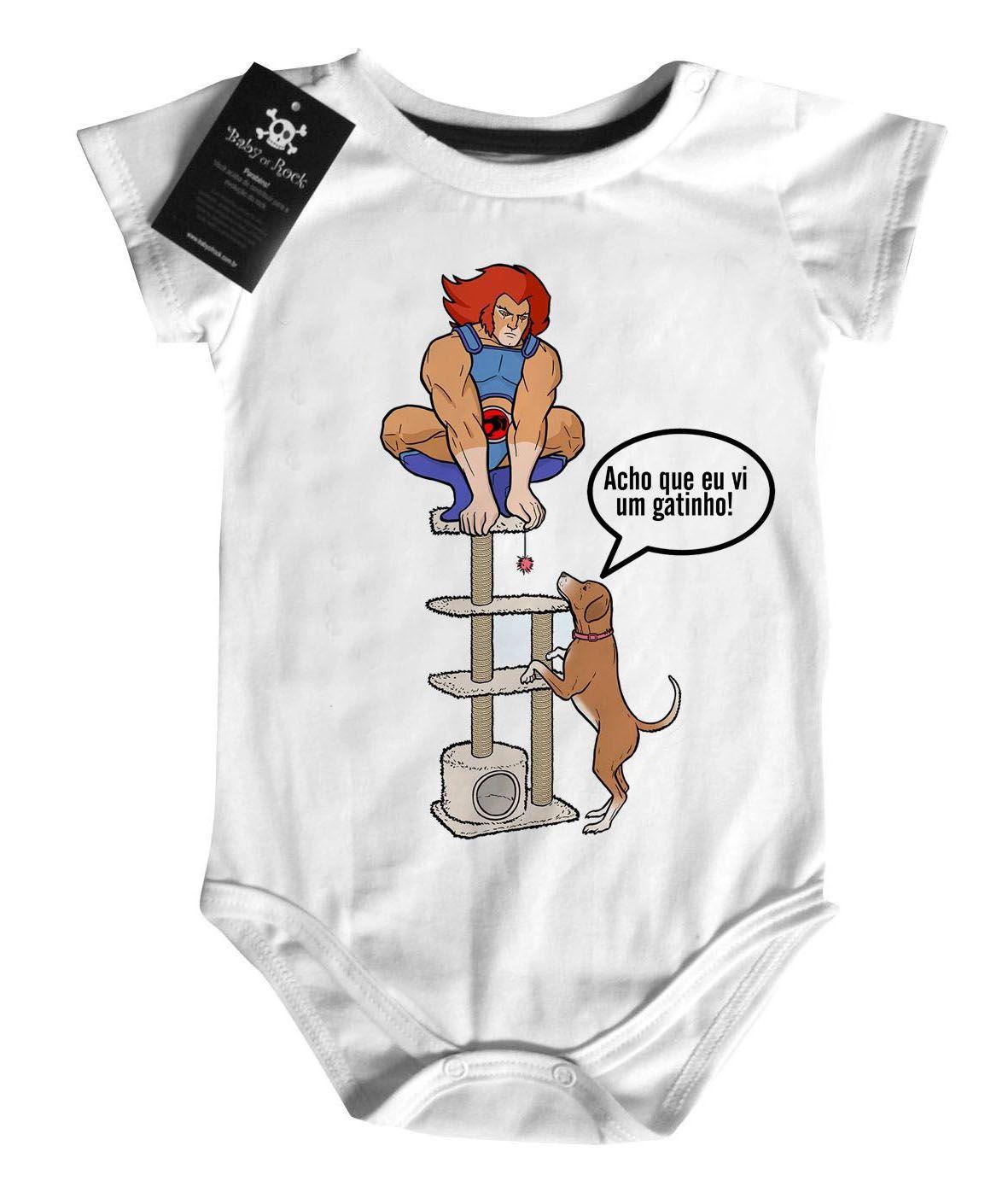 Body Bebê Super Herois -  thundercat - White  - Baby Monster S/A