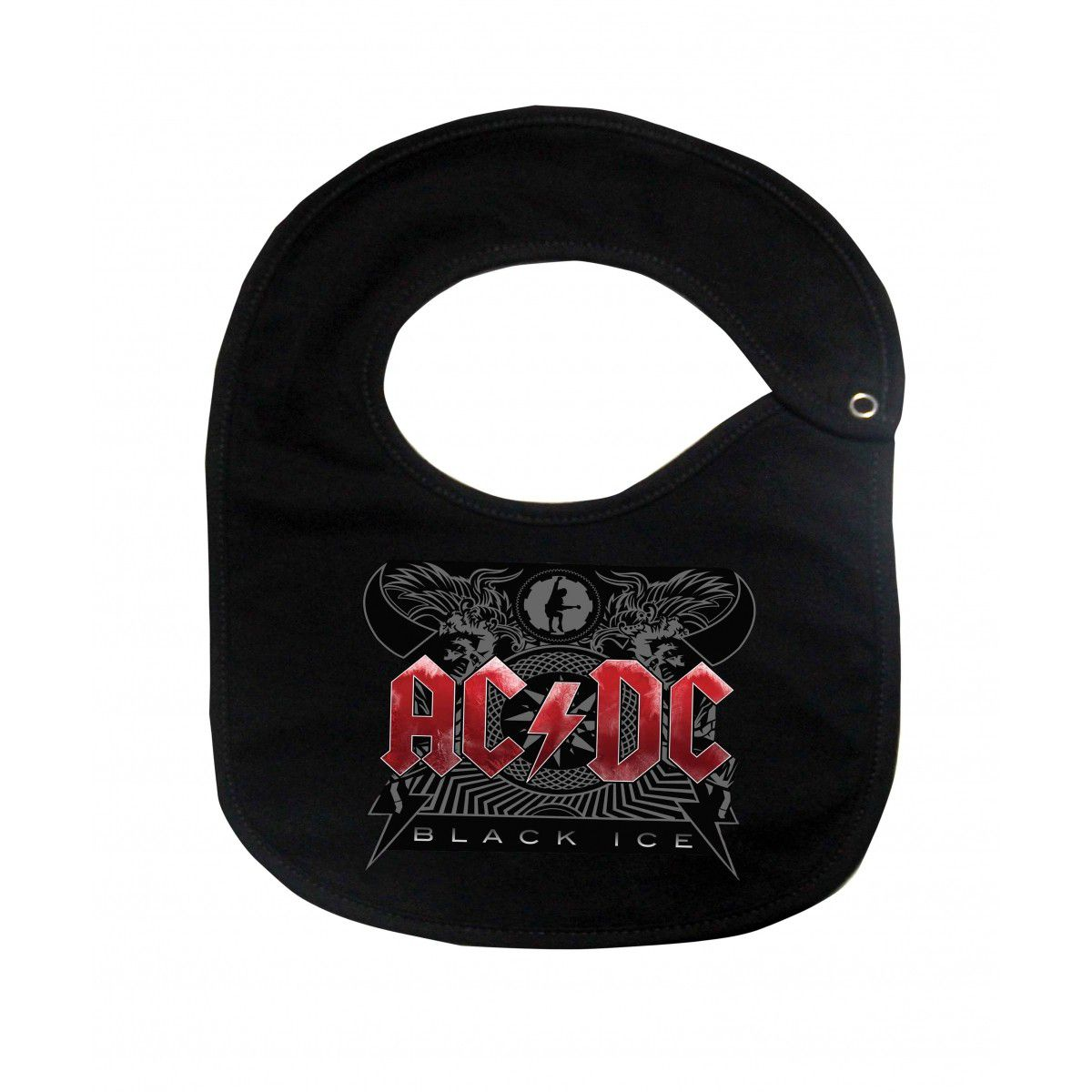 Body, Camiseta, Babador de  Rock Acdc Red Stamp   - Baby Monster S/A