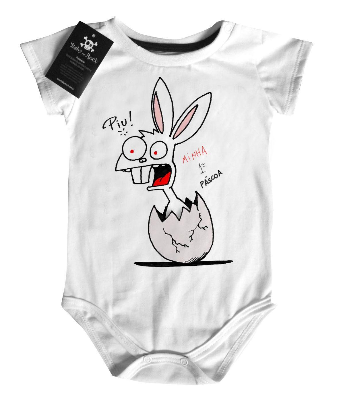Body  Cute  Bebe  1 pascoa? - White  - Baby Monster - Body Bebe