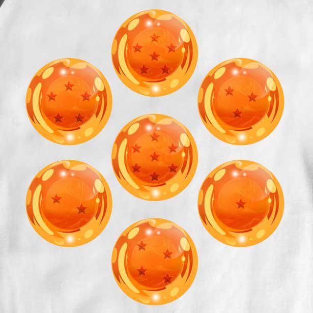 Body  Dragon Ball - Esferas do Dragão - White  - Baby Monster S/A