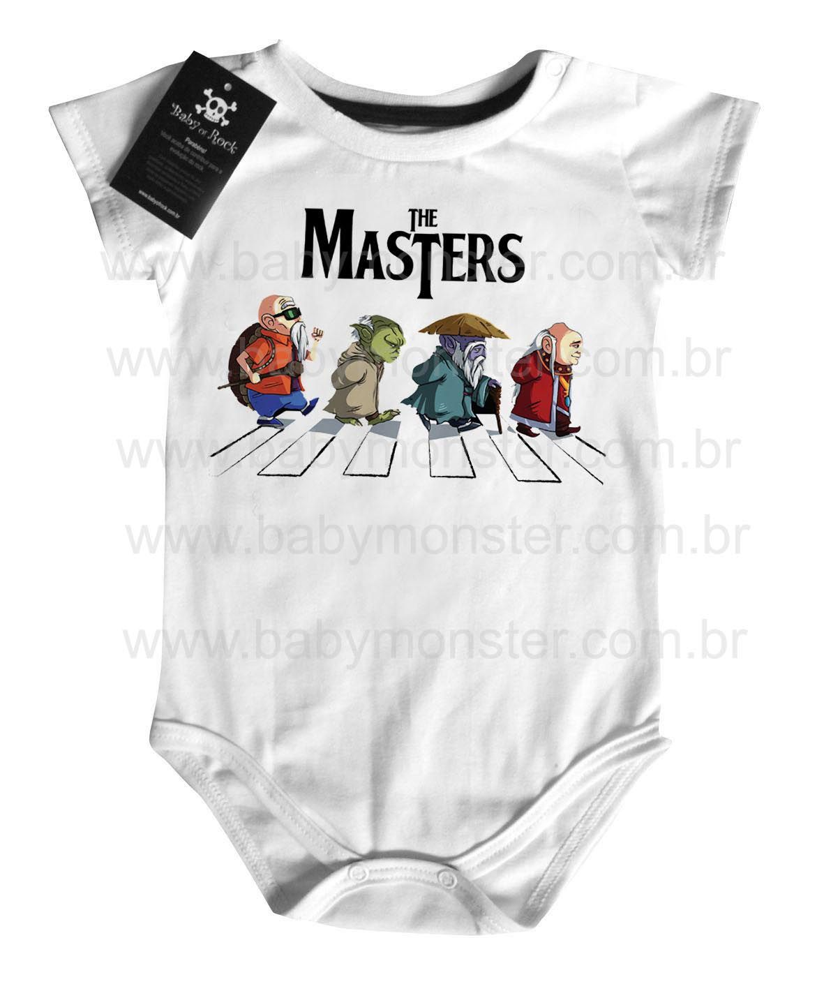 Body  Nerd / Geek  Bebe The Masters - White  - Baby Monster S/A