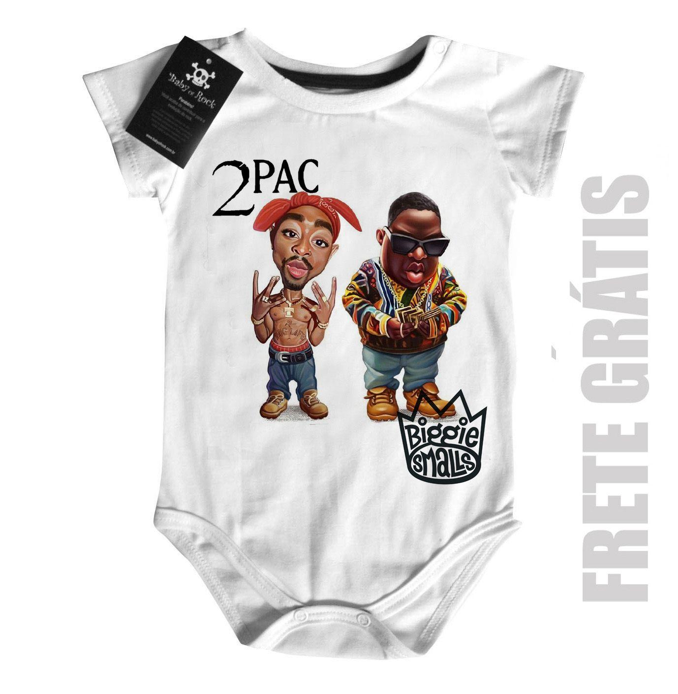 Body  Rap / Hip-hop  2 pac e Biggie Smalls - White  - Baby Monster - Body Bebe