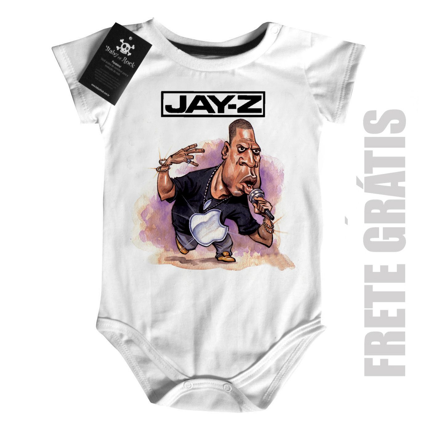 Body Rap Hip hop   Baby Jay Z - White  - Baby Monster S/A