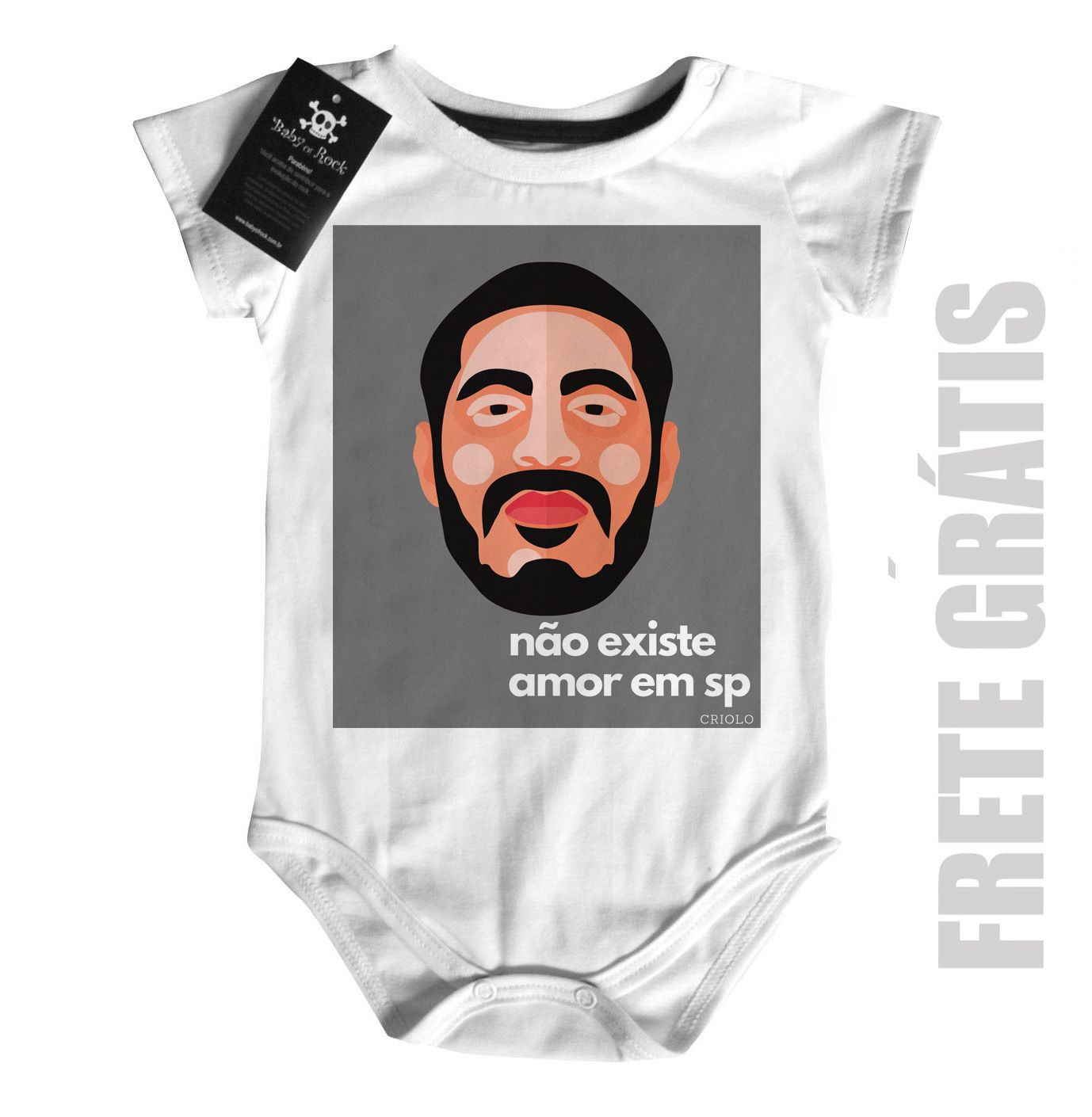 Body  Rap / Hip hop  Criolo Doido - White  - Baby Monster S/A