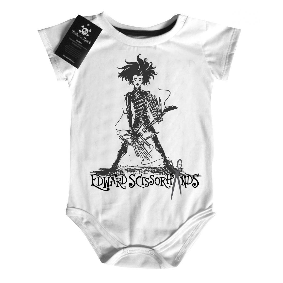 Body Rock Baby Edward Mãos de Tesoura - White  - Baby Monster S/A