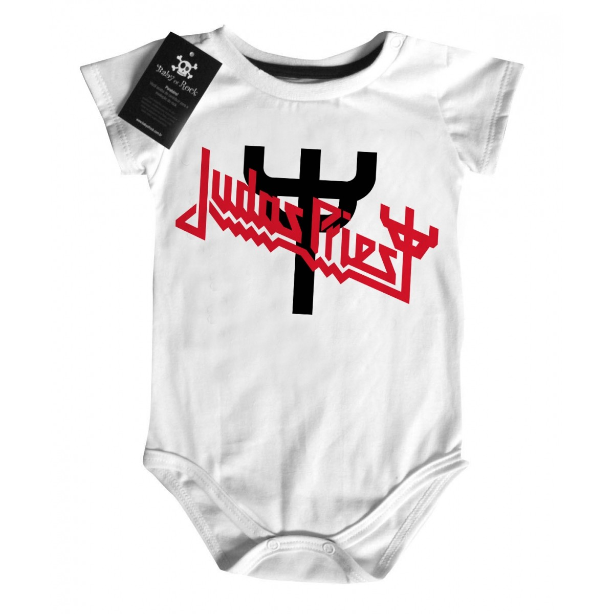 Body Rock Baby JUDAS PRIEST- White  - Baby Monster S/A