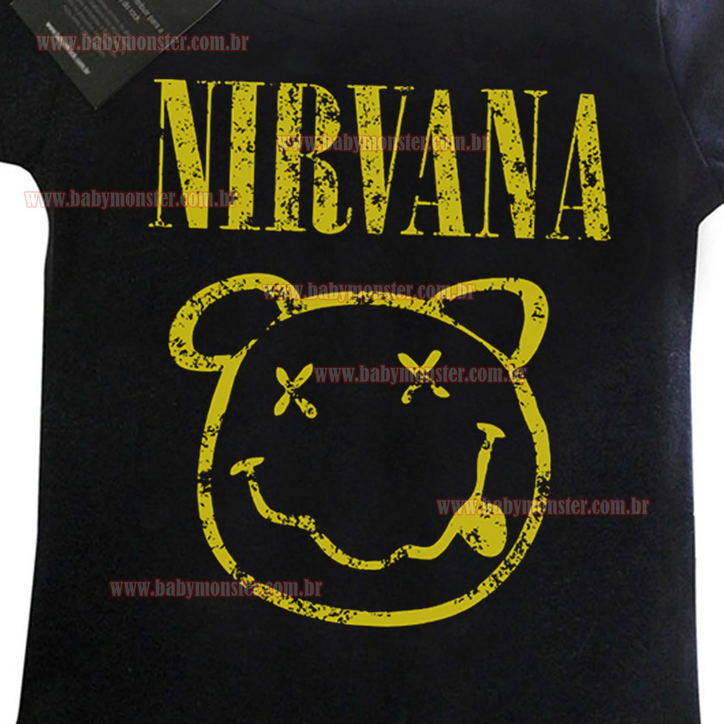 Body Rock  Bebe  Nirvana - Black  - Baby Monster S/A