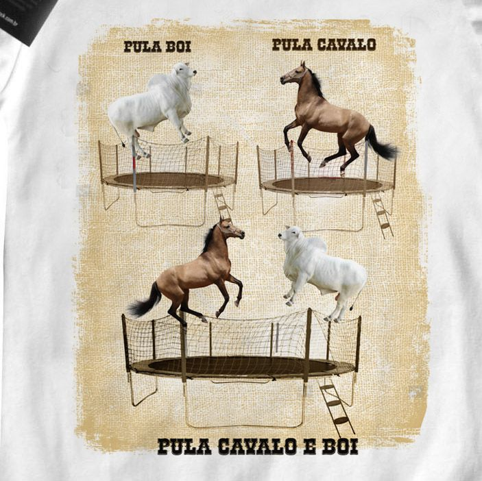 Body  Sertanejo Pula Boi Pula Cavalo - White  - Baby Monster S/A