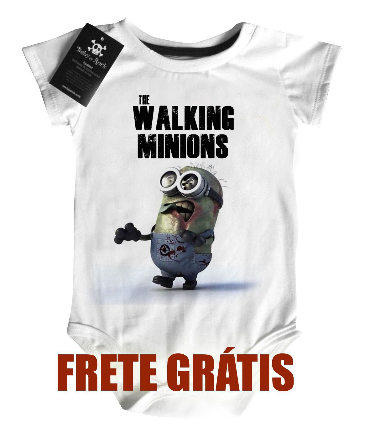 Body  The Walking  Minions - White  - Baby Monster S/A