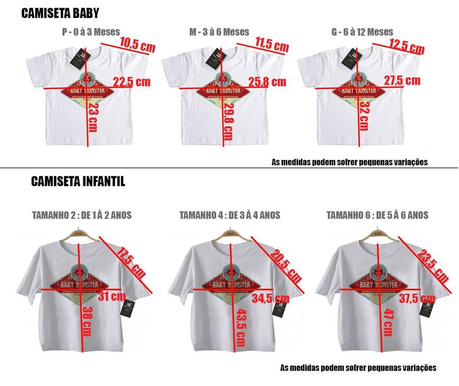 Camiseta Bebê Motorhead - Caricature - White  - Baby Monster - Body Bebe