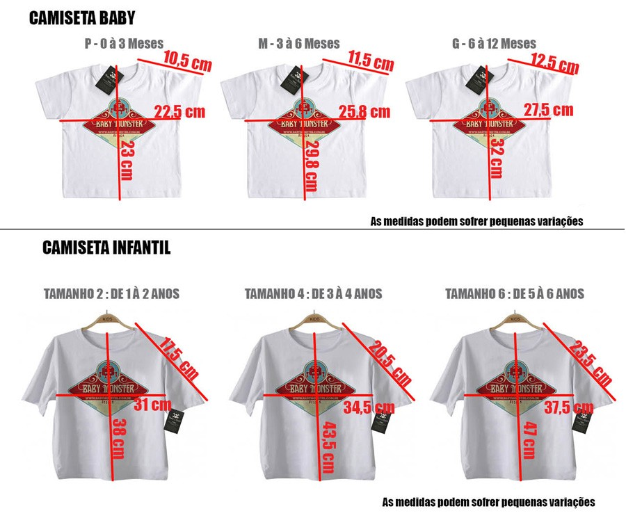 Camiseta de Rock Infantil -  Pink Floyd - White  - Baby Monster S/A