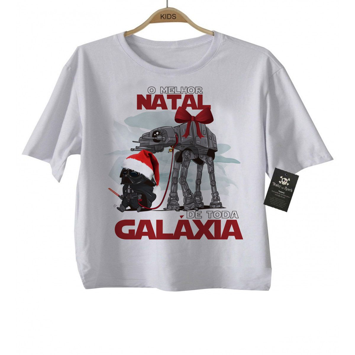 Camiseta de Rock Natal - Star Wars - White - BABY MONSTER ... 71e06d63d1d8c