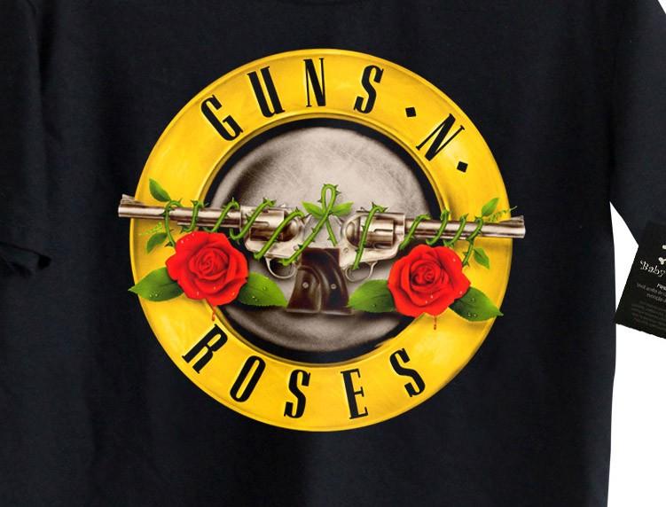 Camiseta Guns n Roses - Black  - Baby Monster S/A