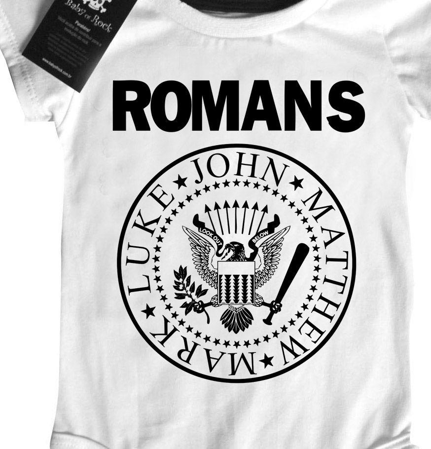 Camiseta Infantil  Cristã Católico Romanos - White -  - Baby Monster - Body Bebe