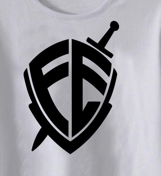 Camiseta Infantil  Cristã Escudo da Fé  - White -  - Baby Monster - Body Bebe