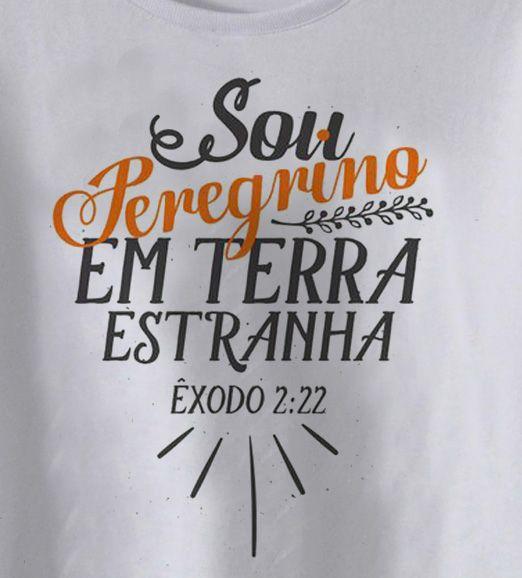 Camiseta Cristã Infantil Êxodo 2:22 - White  - Baby Monster S/A