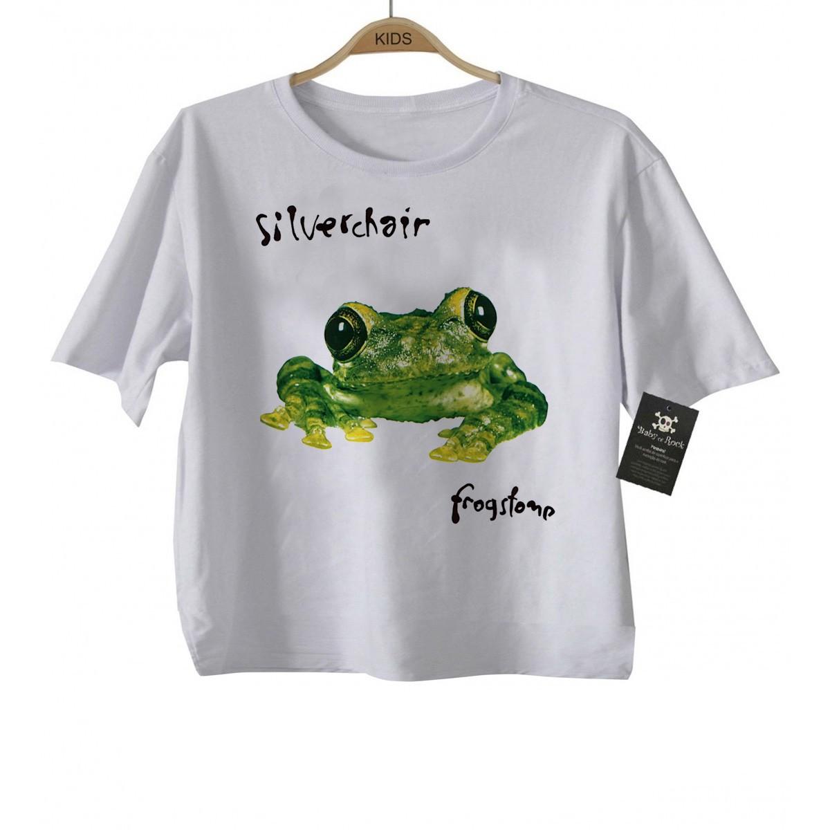 Camiseta Infantil Rock - Silverchair - White  - Baby Monster S/A