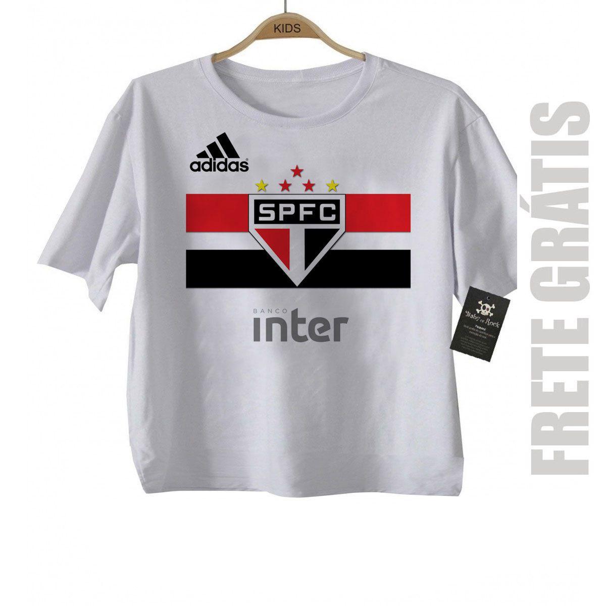 Camiseta Infantil  São Paulo Futebol Time - Campeao  - Baby Monster S/A