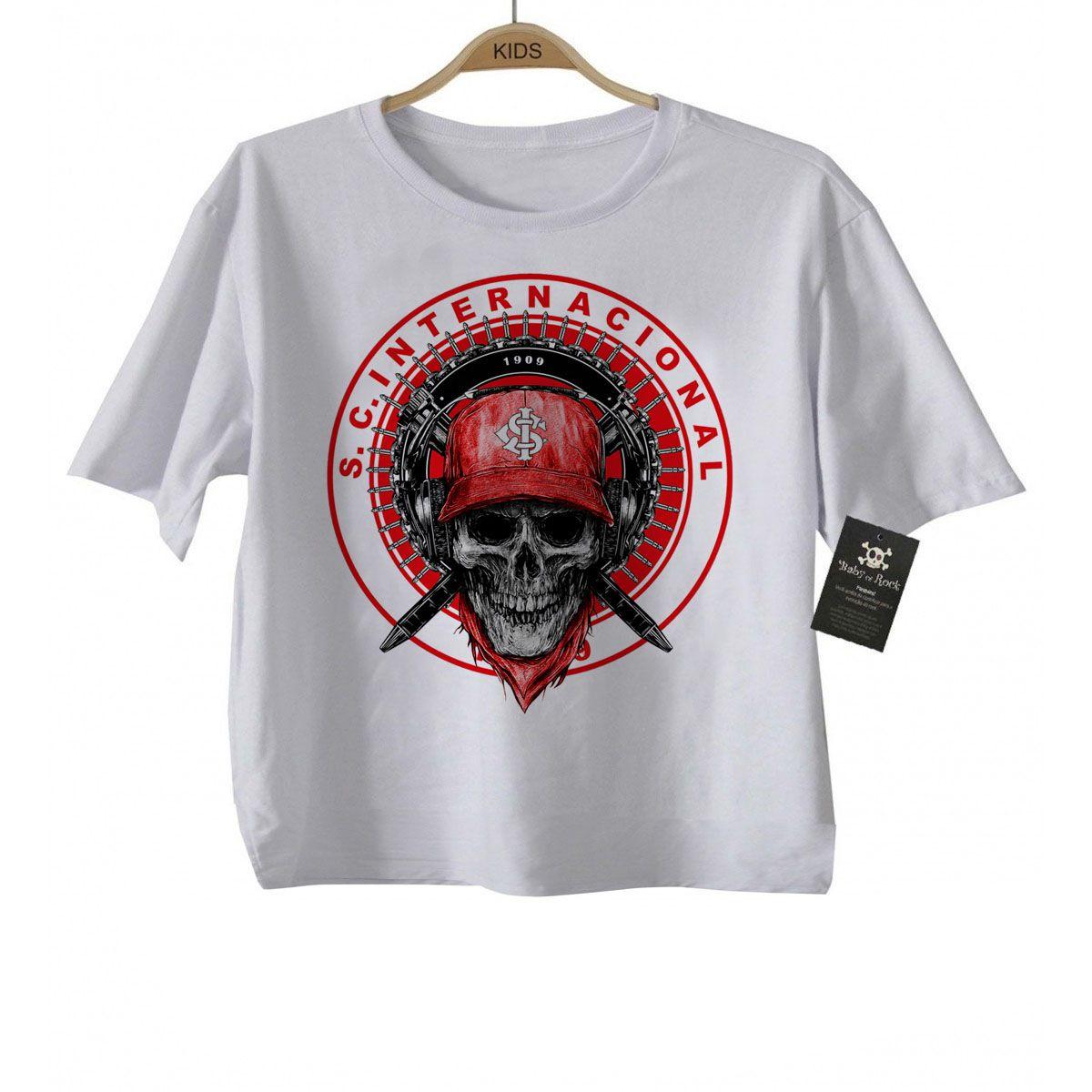 Camiseta Infantil   Interl Time - White  - Baby Monster - Body Bebe