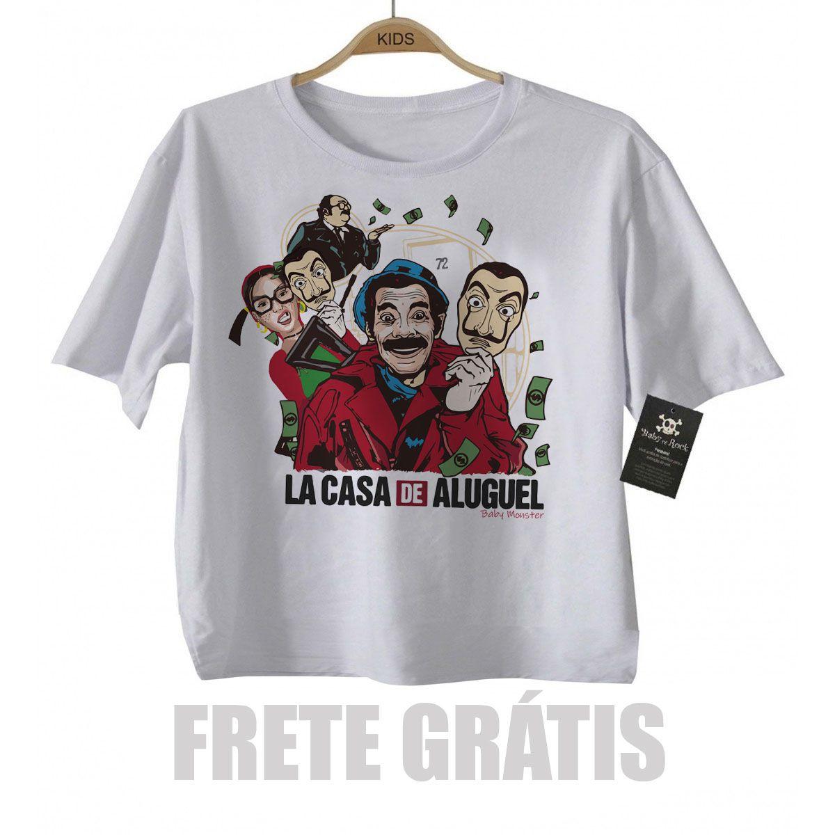 Camiseta Infantil Series La casa de Aluguel - Seu Madruga  - Baby Monster S/A