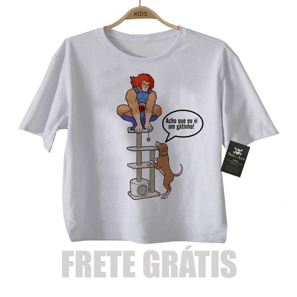 Camiseta Infantil Super Herois -  thundercat - White  - Baby Monster S/A
