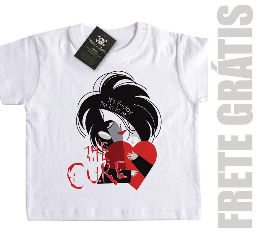 Camiseta Infantil The Cure - I