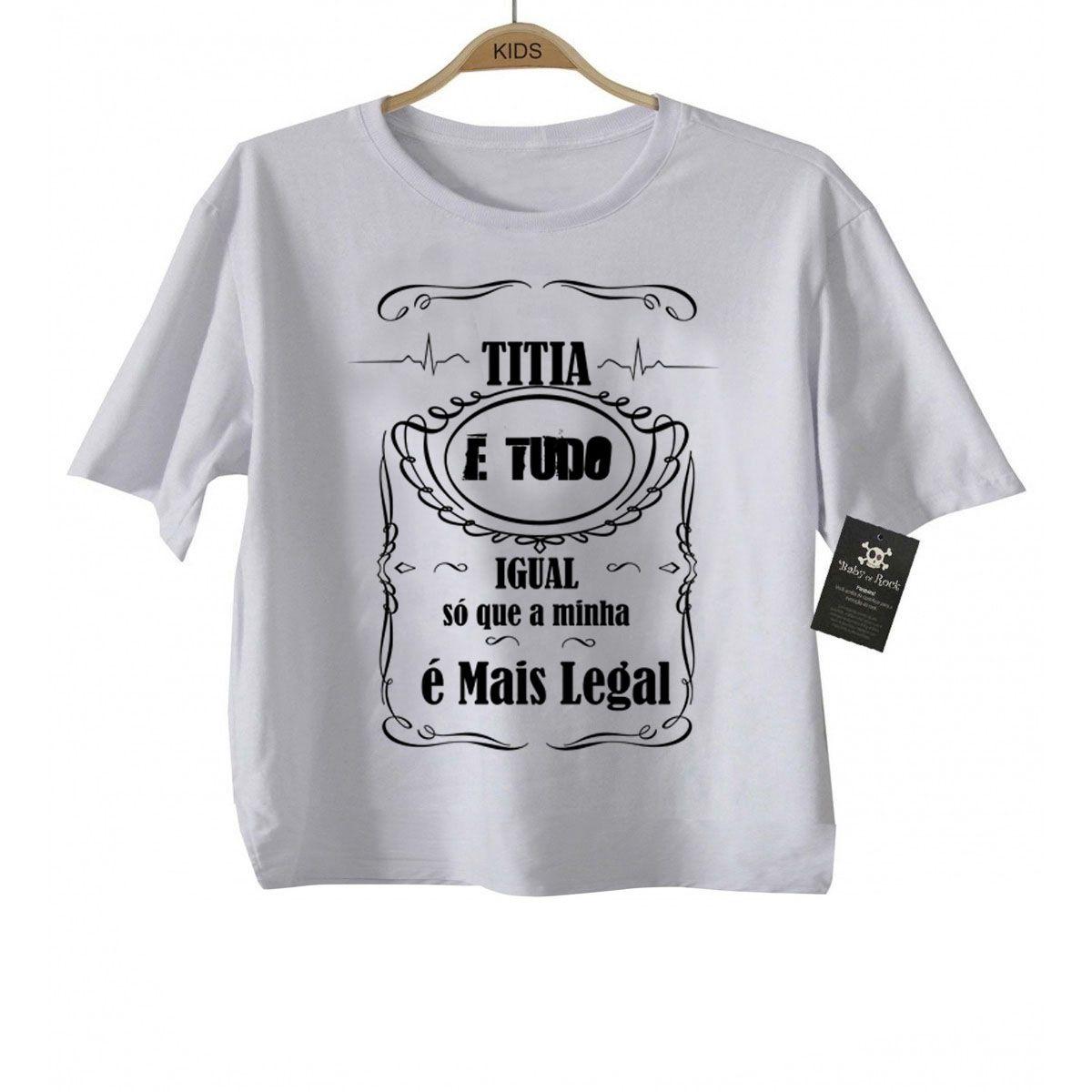 Camiseta  Titia e tudo igual - White  - Baby Monster S/A