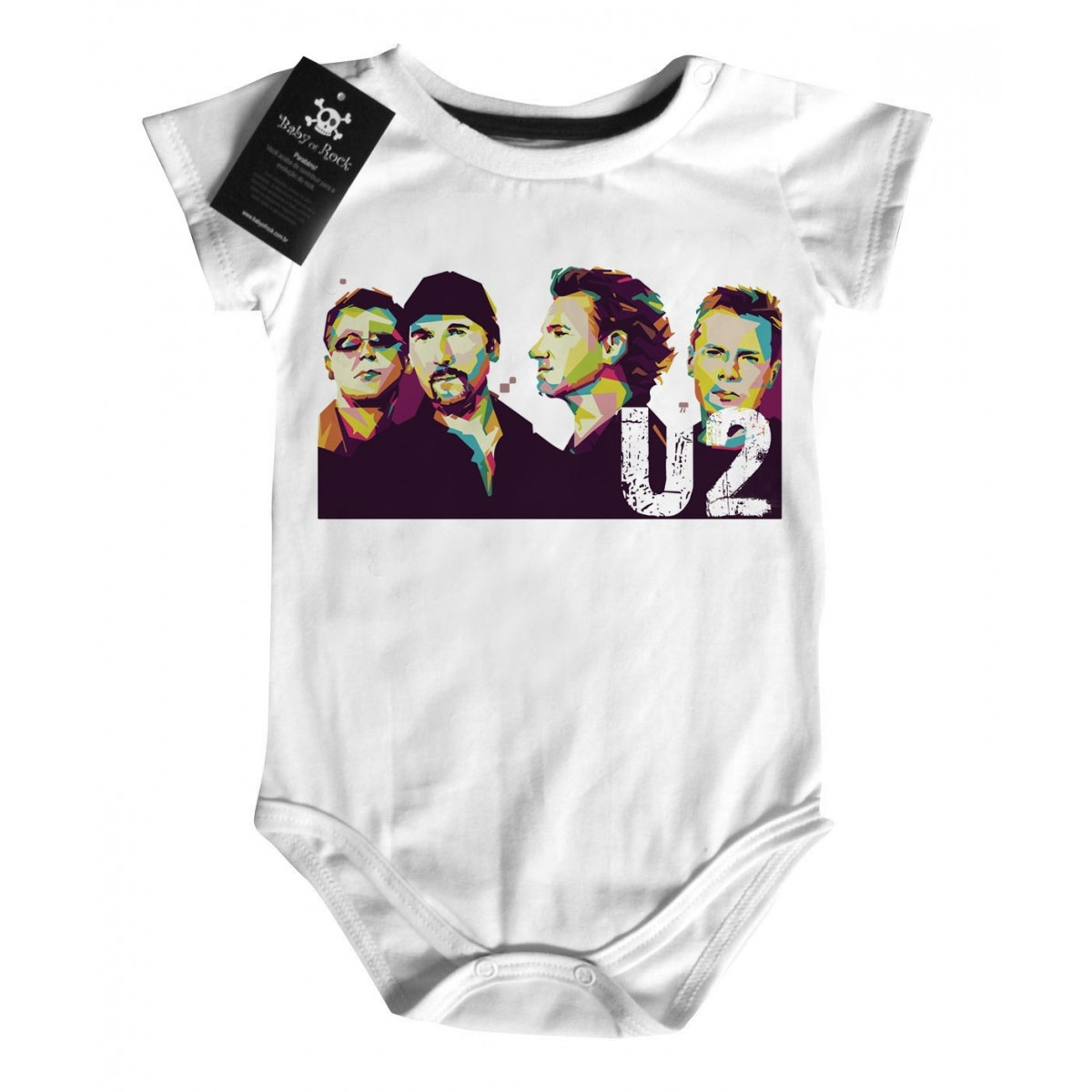 Body Rock U2 - White   - Baby Monster - Body Bebe