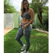 Conjunto Fitness Legging e Top Suplex Light
