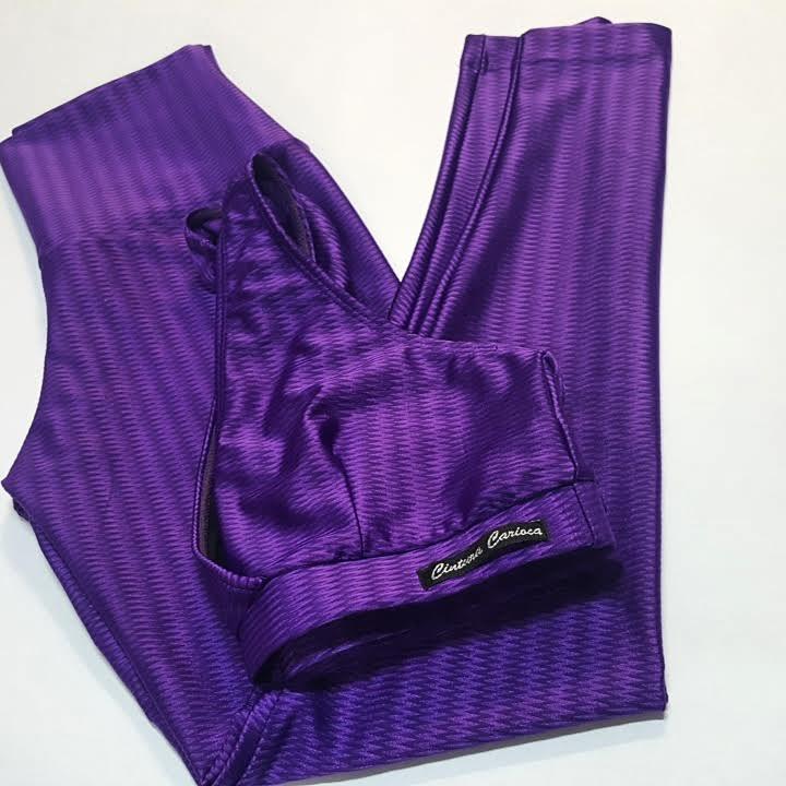 Conjunto Legging e Top Nadador Zap  - Cintura Carioca Moda Fitness
