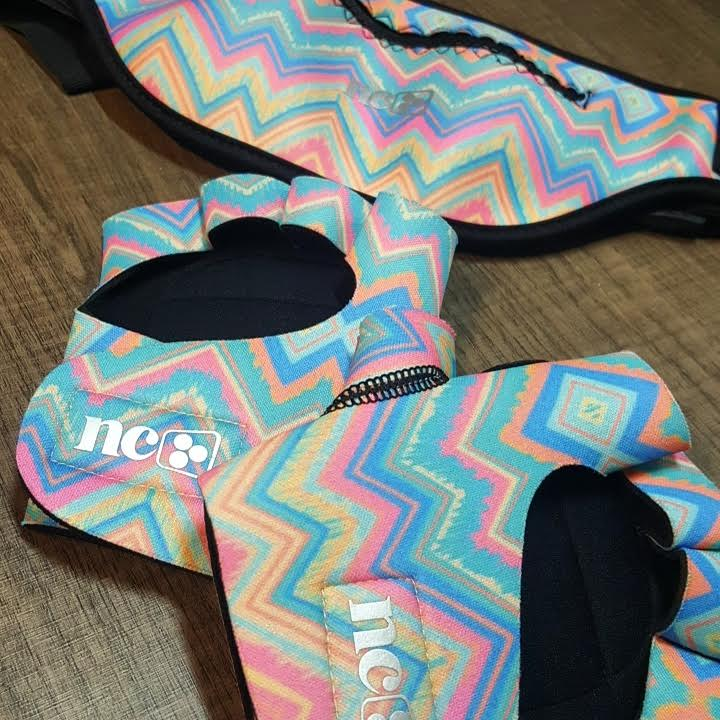 Kit Pochete e Luva  - Cintura Carioca Moda Fitness