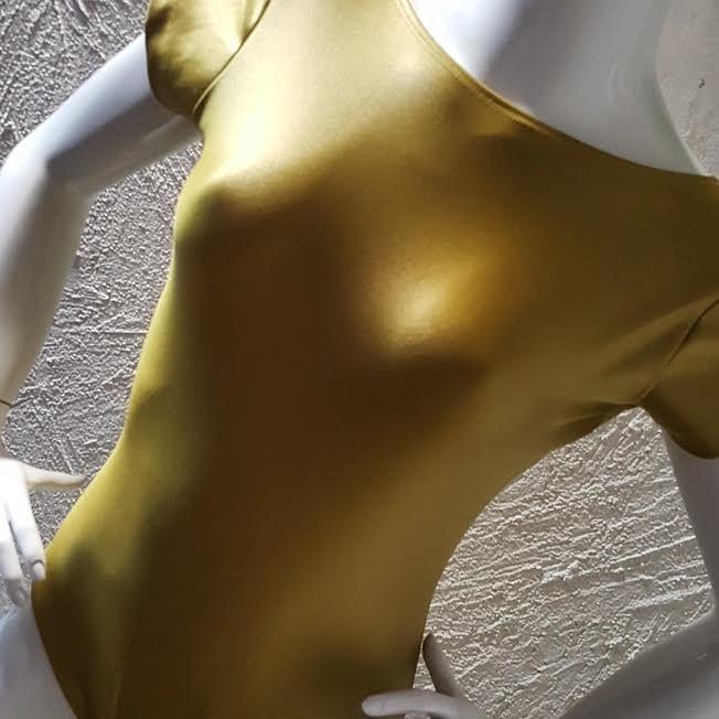 Body Dourado  - Cintura Carioca Moda Fitness