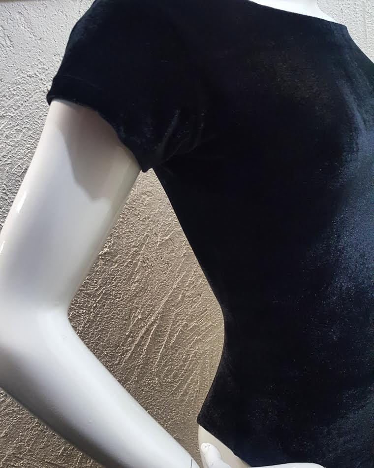 Body Veludo  - Cintura Carioca Moda Fitness