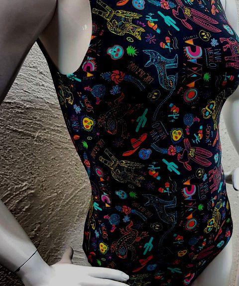 Body Mexicano  - Cintura Carioca Moda Fitness